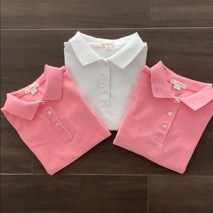 J.Crew Crewcuts NWOT Bundle of 3 Girl Polo Shirts